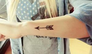 Tatuajes de Arcos y Flechas
