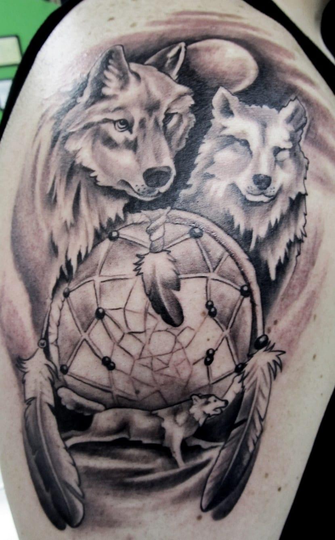 Tatuaje de lobo significado y simbolismo for Calavera lobo