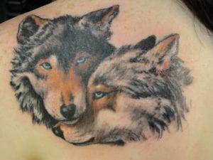 tatuajes lobos