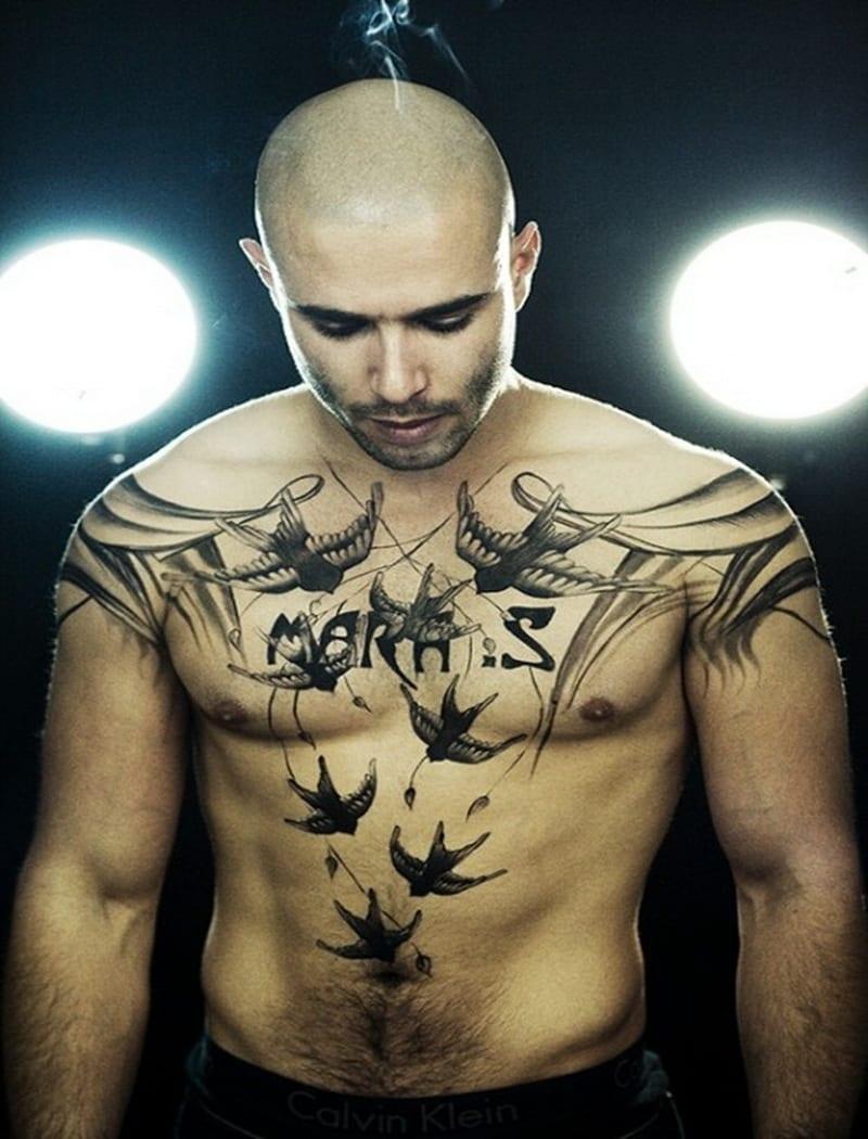Tatuajes en el pecho para hombres for Cool mens tattoos