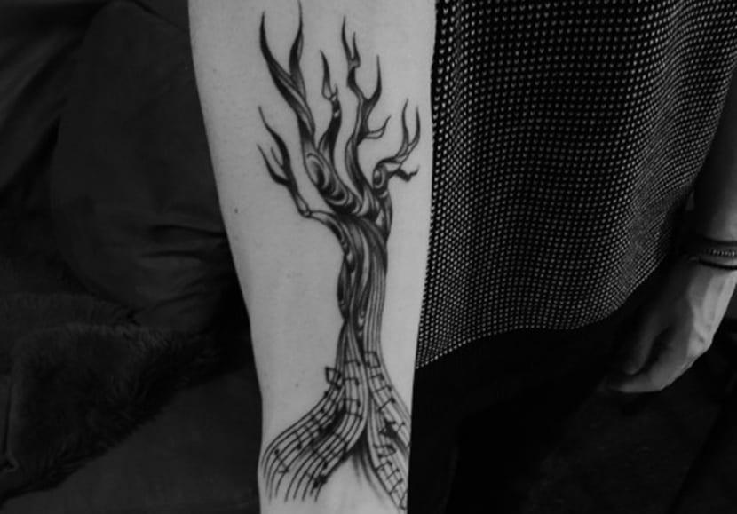 Tatuajes De Música Notas Musicales Clave De Sol Y Más