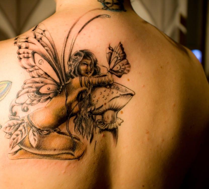 Tatuajes De Hadas Para Hombres