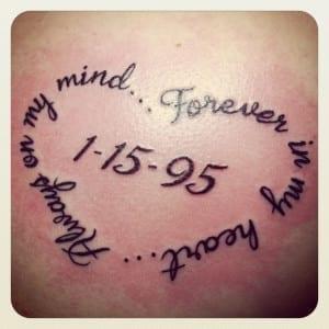 Tatuajes Para Recordar A Las Personas Que Ya No Están Entre Nosotros