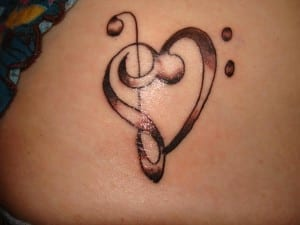 tatuaje corazon