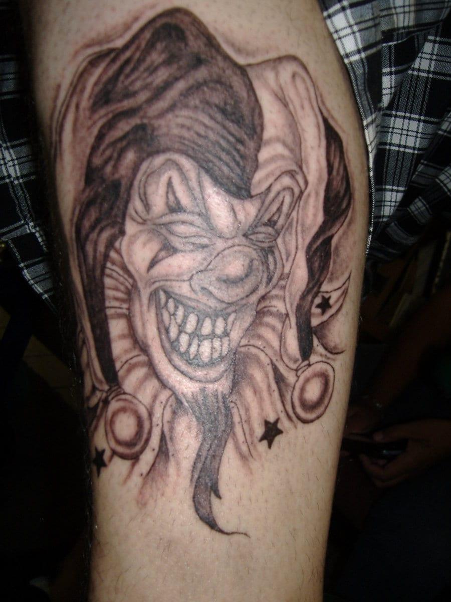 Tatuajes De Payasos Siniestros