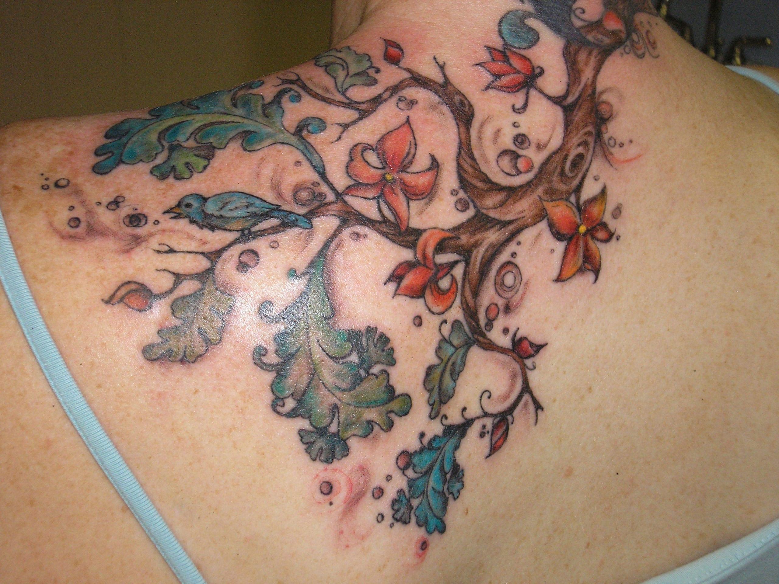 Significado De Los Tatuajes De árboles