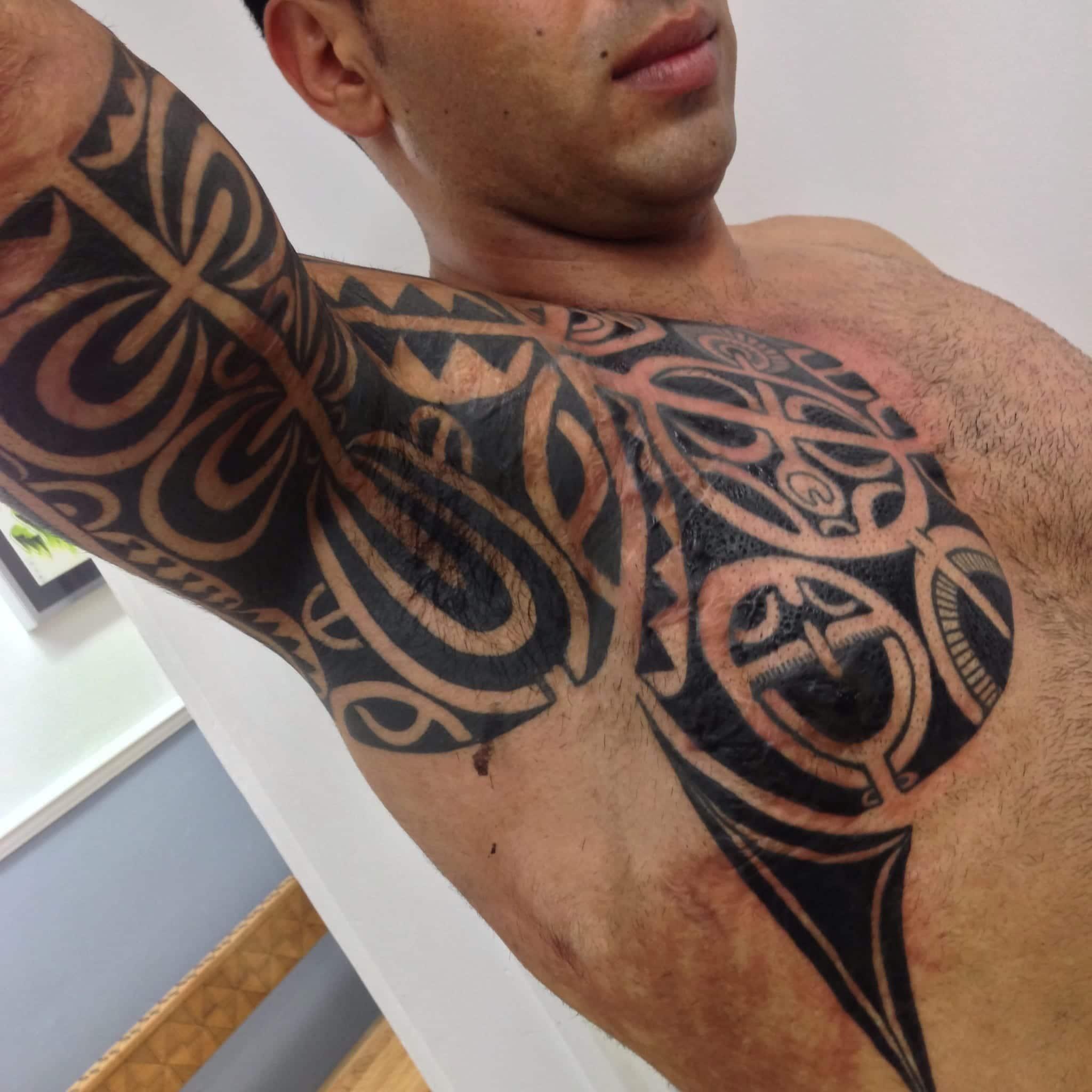 Tatuajes En Las Axilas