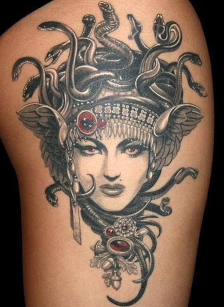Significado Del Tatuaje De Medusa