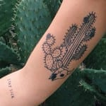 Tatuajes de cactus