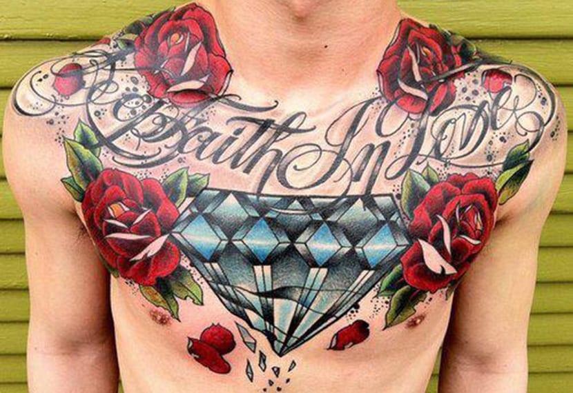 Tatuaje De Diamante Significado Simbolismo Y Galería De Diseños
