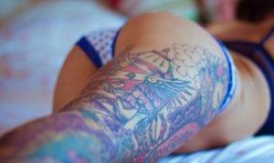 tatuajes sugerentes mujer
