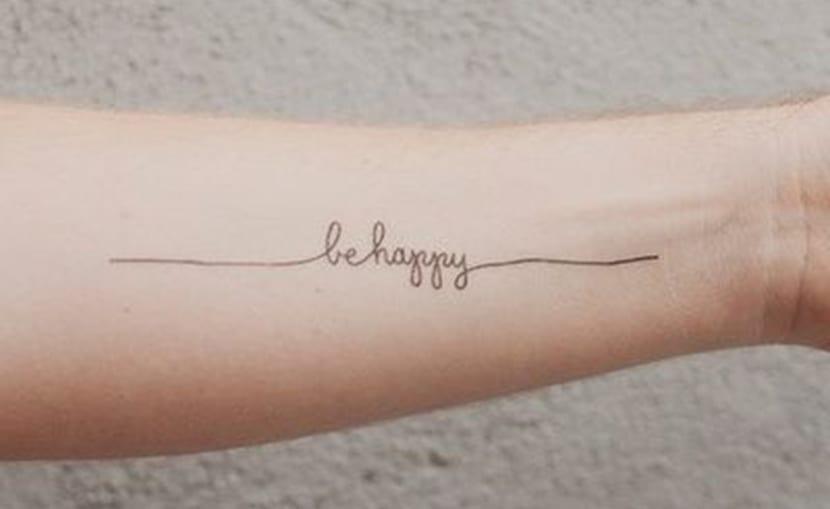 Tatuajes minimalistas para chicos