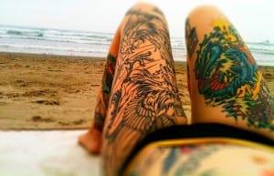 Tatuajes y verano
