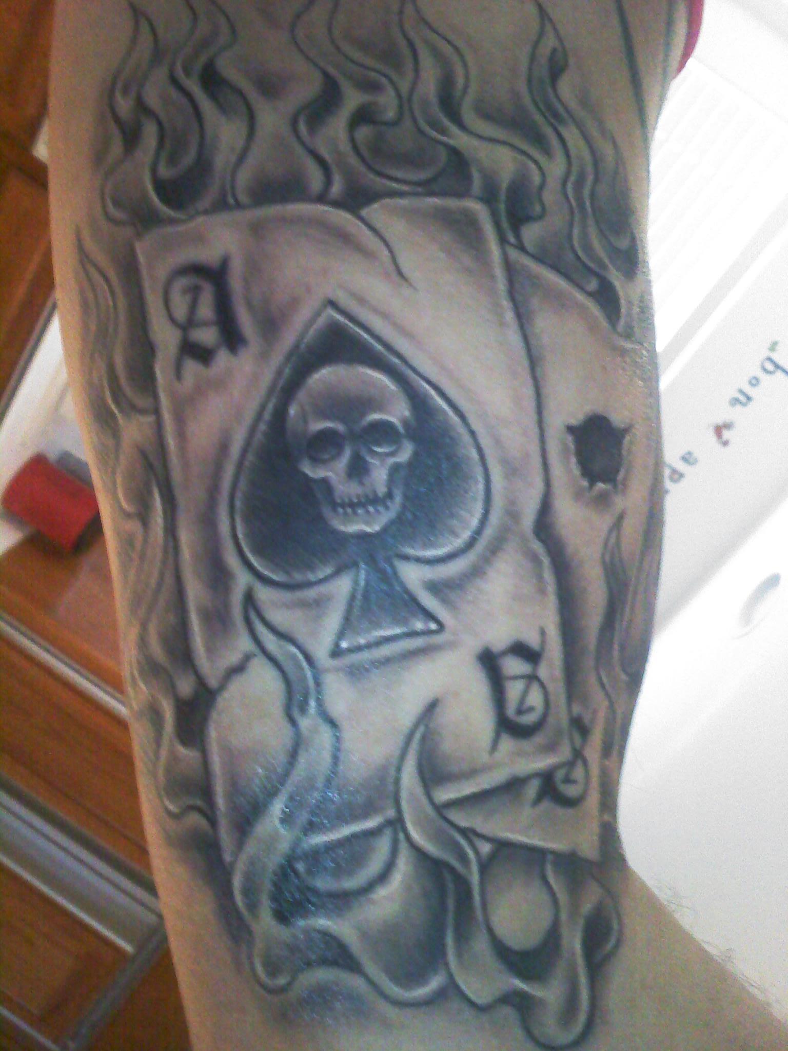 Tatuajes De As De Corazones