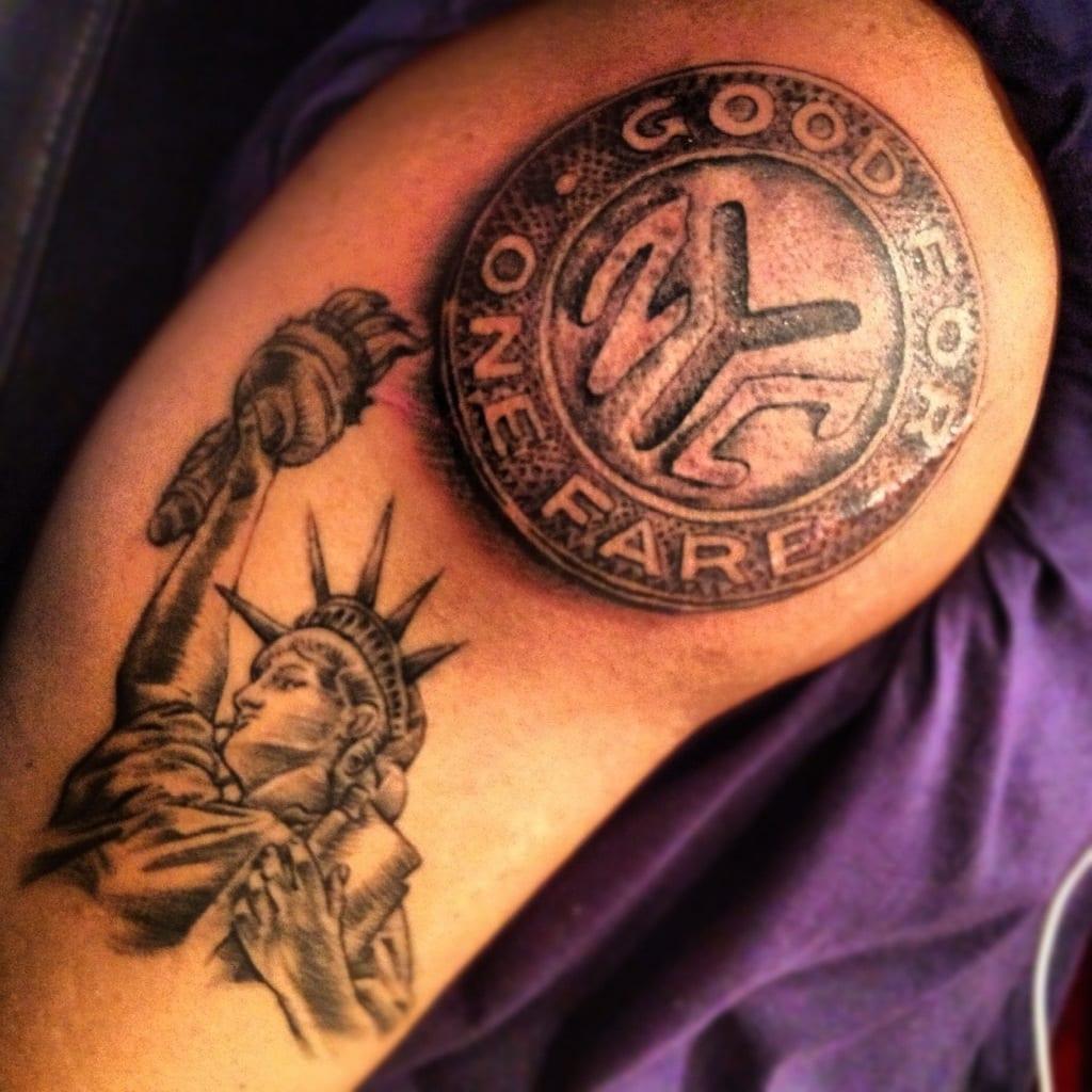 Tatuajes De La Estatua De La Libertad