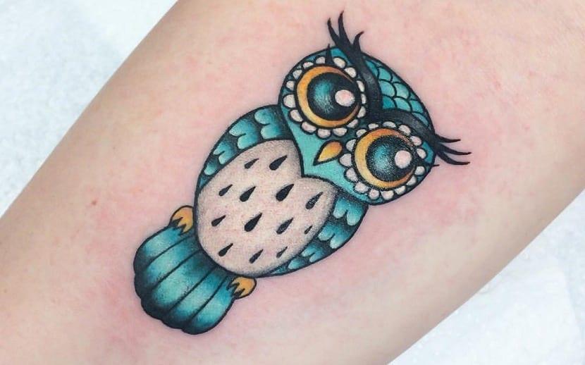 Tatuajes De Búhos Diseños Ideas Y Todo Sobre Su Significado