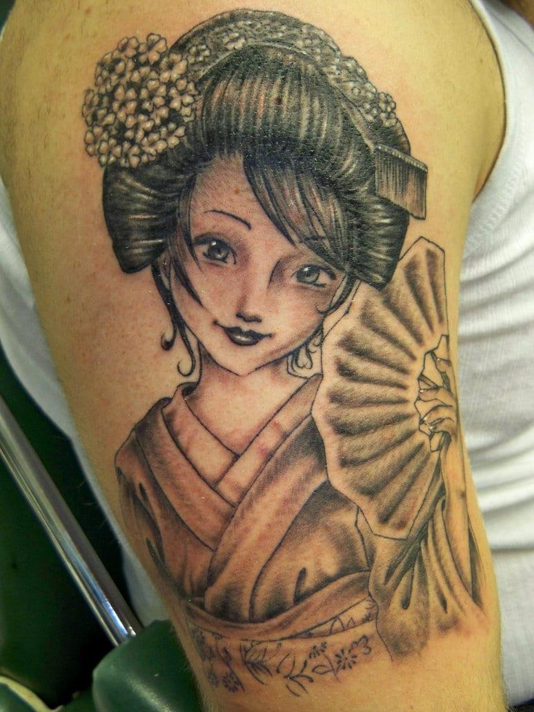 Increíbles Tatuajes De Geishas