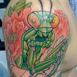 Tatuajes de mantis religiosa