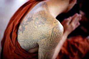 Tatuajes budistas