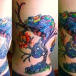 Tatuajes de camaleones
