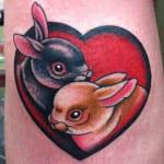 Tatuajes de conejos