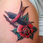 Tatuajes de golondrinas