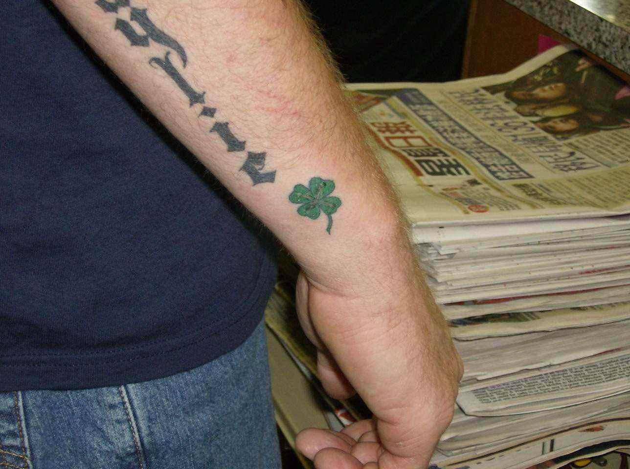 Tatuajes De Tréboles Para La Buena Suerte