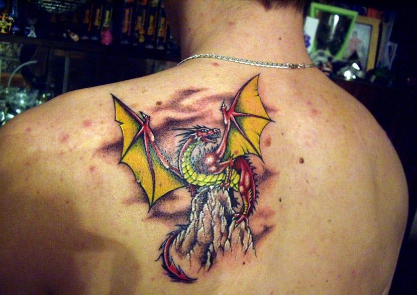 Tatuajes De Dragones Origen Y Significado