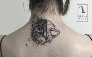 Tatuajes de Marla Moon