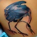 Tatuajes de garzas