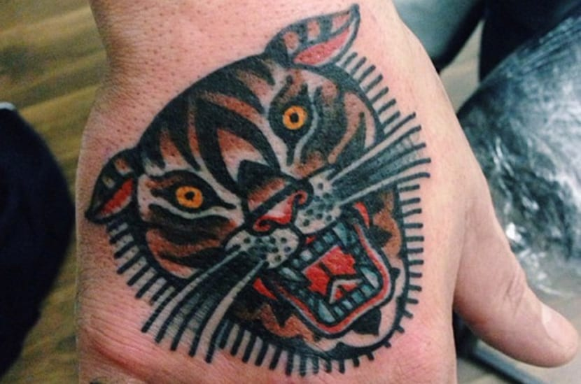 Tattoo tigre oriental significado #1