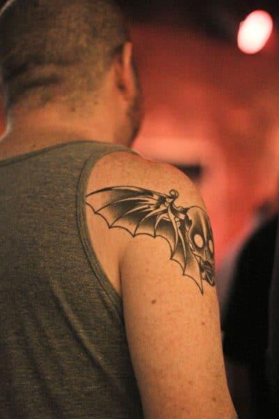 Demonio que solo es una cabeza con alas