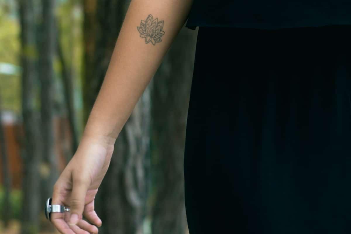 Flor de loto pequeña