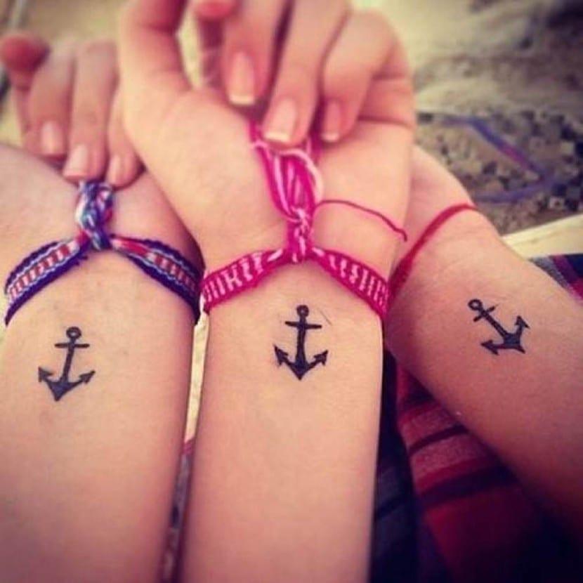 Tatuajes De Amigos Para Siempre