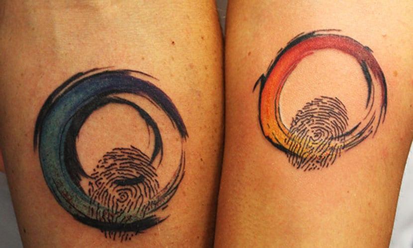 Tatuajes de huella dactilar