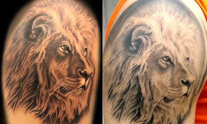 Tatuaje y la pérdida de color