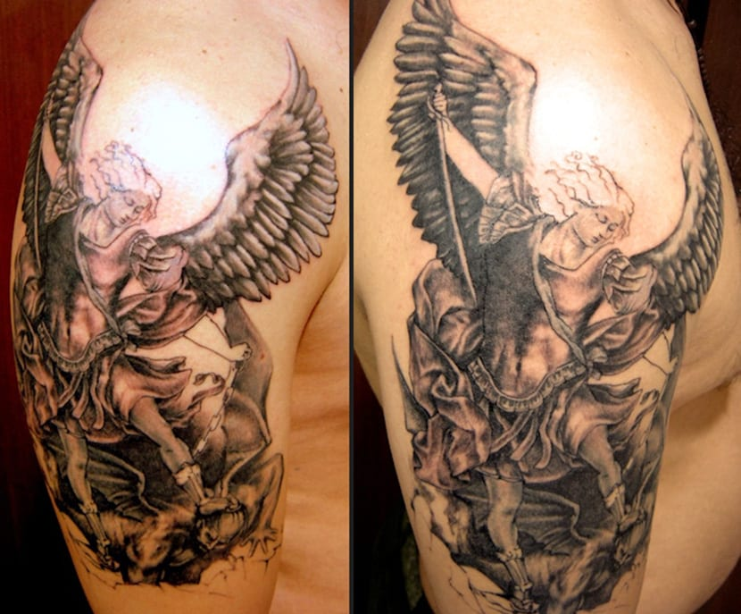 Tatuajes de ngeles y demonios