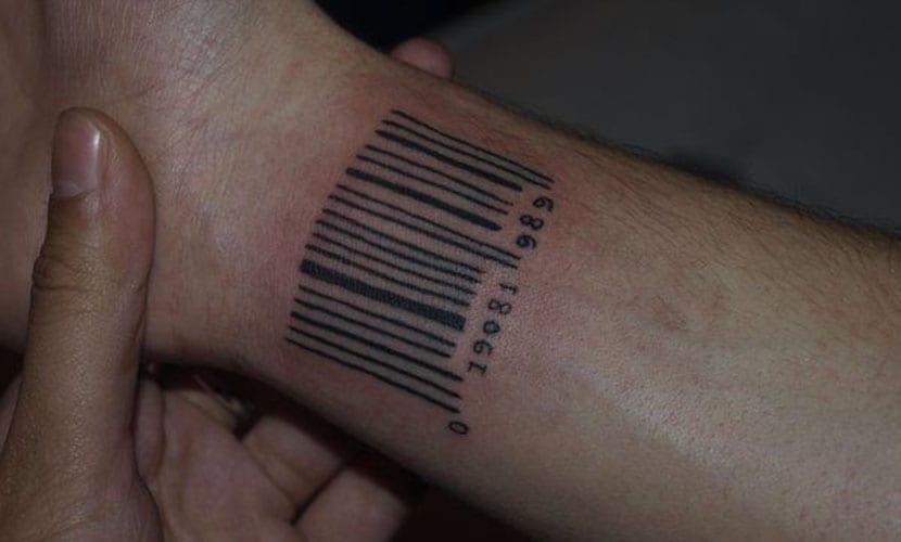 Tatuajes De Códigos De Barras