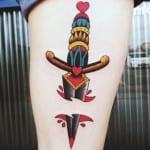 Tatuajes de dagas