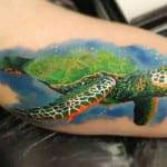 Tatuajes de tortugas marinas