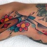 Tatuajes de navajas de afeitar