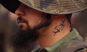 Tatuajes y el ejército español