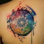 Tatuajes de estilo acuarela