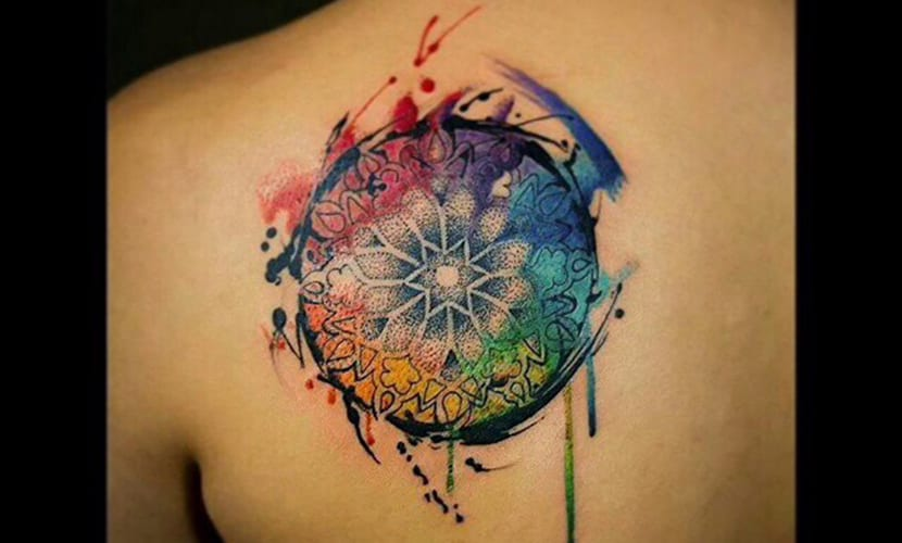 tatuajes watercolor