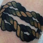 Tatuajes de sogas y cuerdas