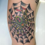 Tatuajes de telarañas