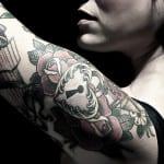 Tatuajes de candados y cerraduras
