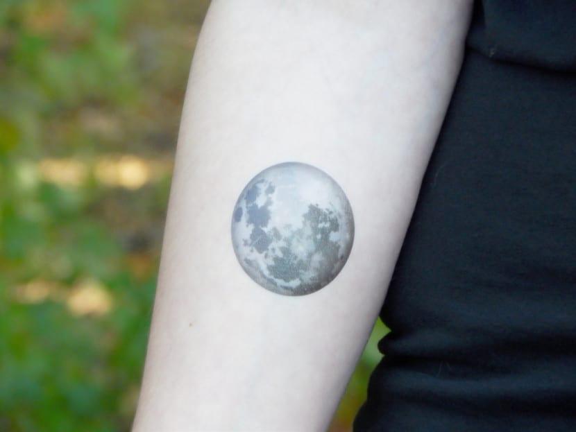 Tatuajes De Lunas Llenas