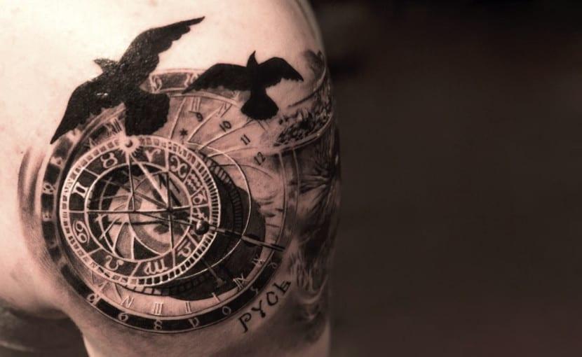 Tatuajes De Relojes Para Simbolizar El Tiempo