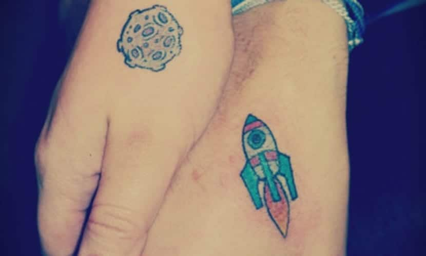 Tatuajes De Cohetes Para Seguir Soñando